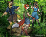 Furry Friends- Dog, Fox, Cat TF Commission