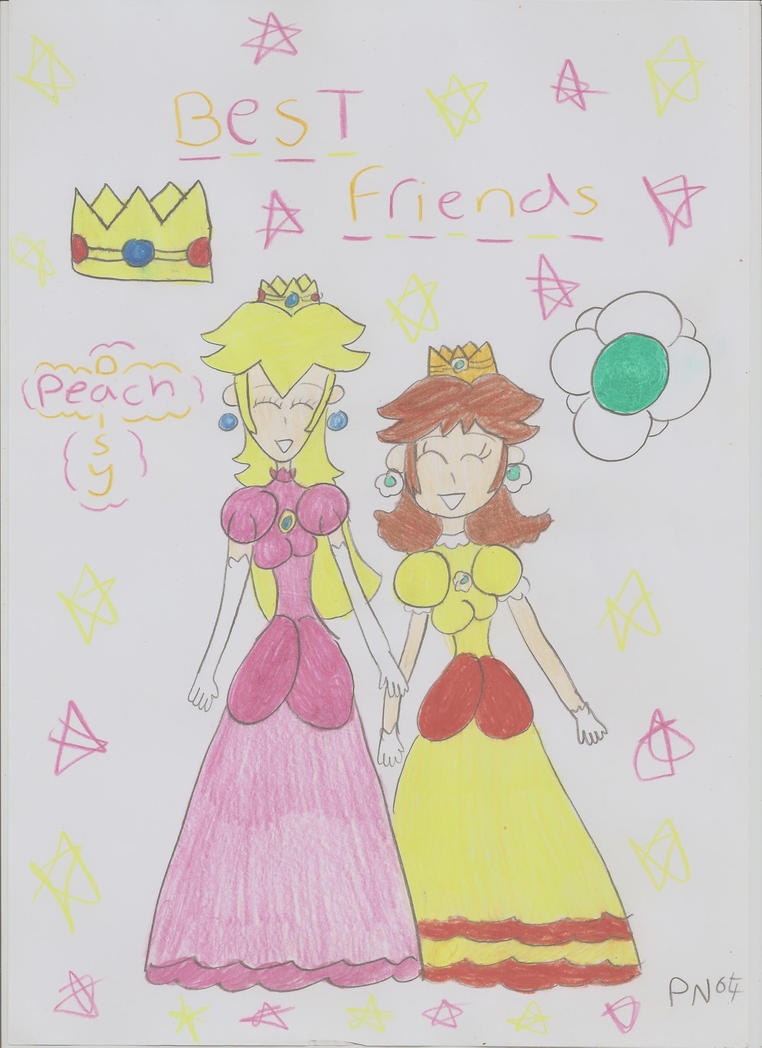 Best Friends by PrincessNintendo89
