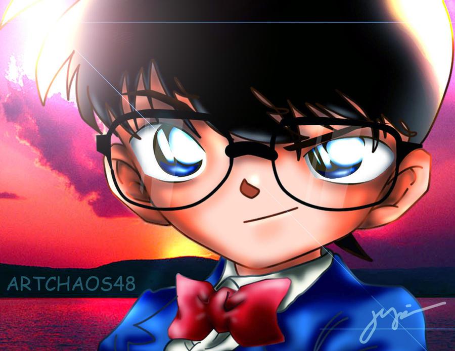 detective conan ARTCHAOS48 by artchaosnb