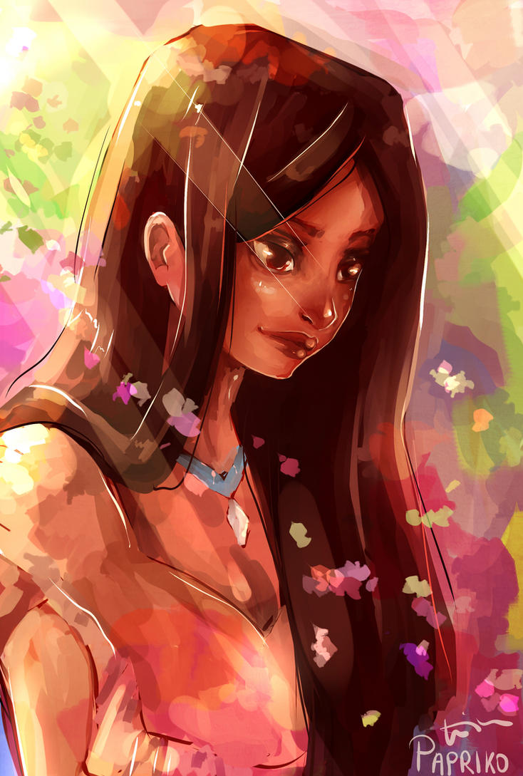 Pocahontas by Paprikoo