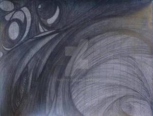 Spiritual drawing-Wormhole