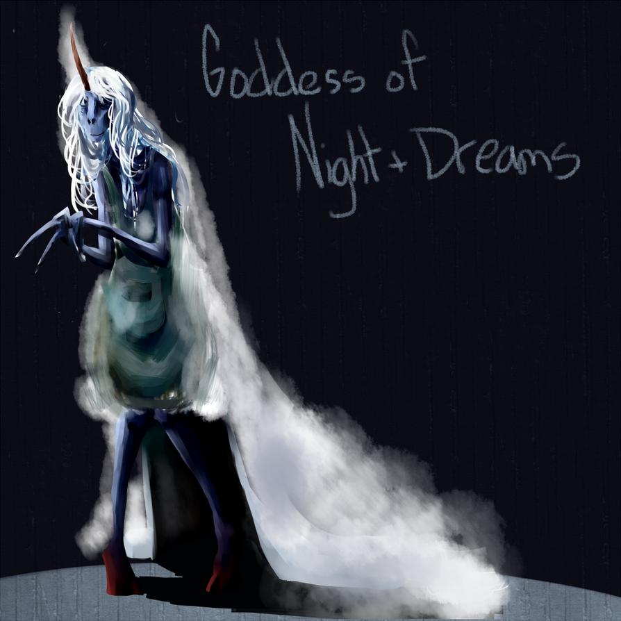 Goddess of the Night by TheUnoriginal