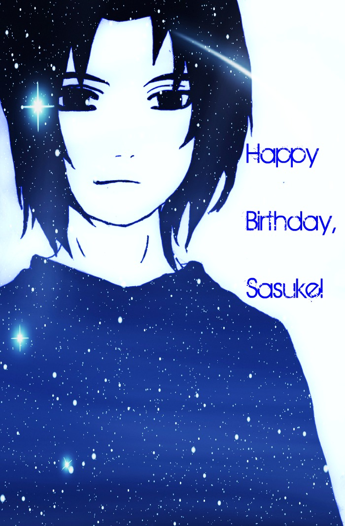 .:Happy Birthday, Sasuke:. by LavenderLightning