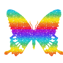 Rainbow Butterfly PNG by SugarPaula on DeviantArt