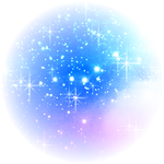 Glitter Blue Shadow PNG