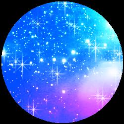 Glitter Blue Shadow PNG by SugarPaula