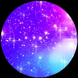 Glitter Purple Shadow PNG