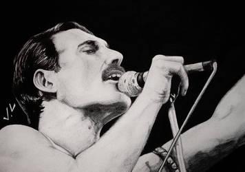 Freddie Mercury by kasukoxan