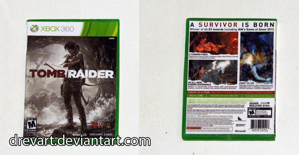 Tomb Raider (2013) (Xbox 360) Keychain by Drevart on ...