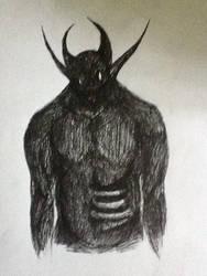 Pen Demon by Guiding-Heart