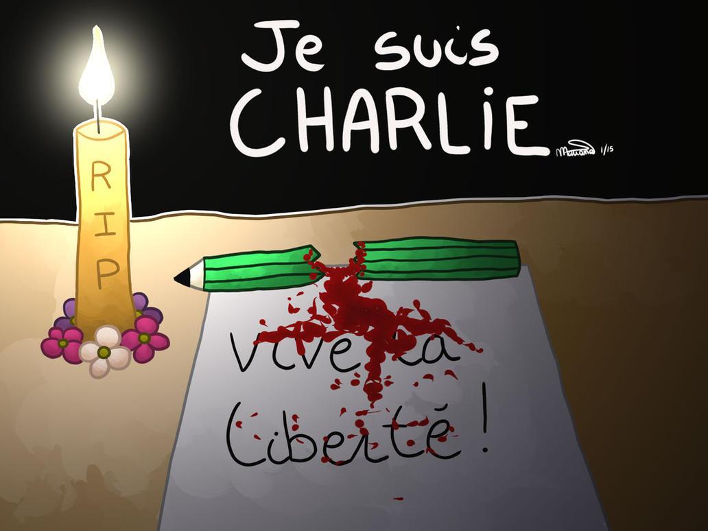 032 Je suis Charlie by SugarTofu