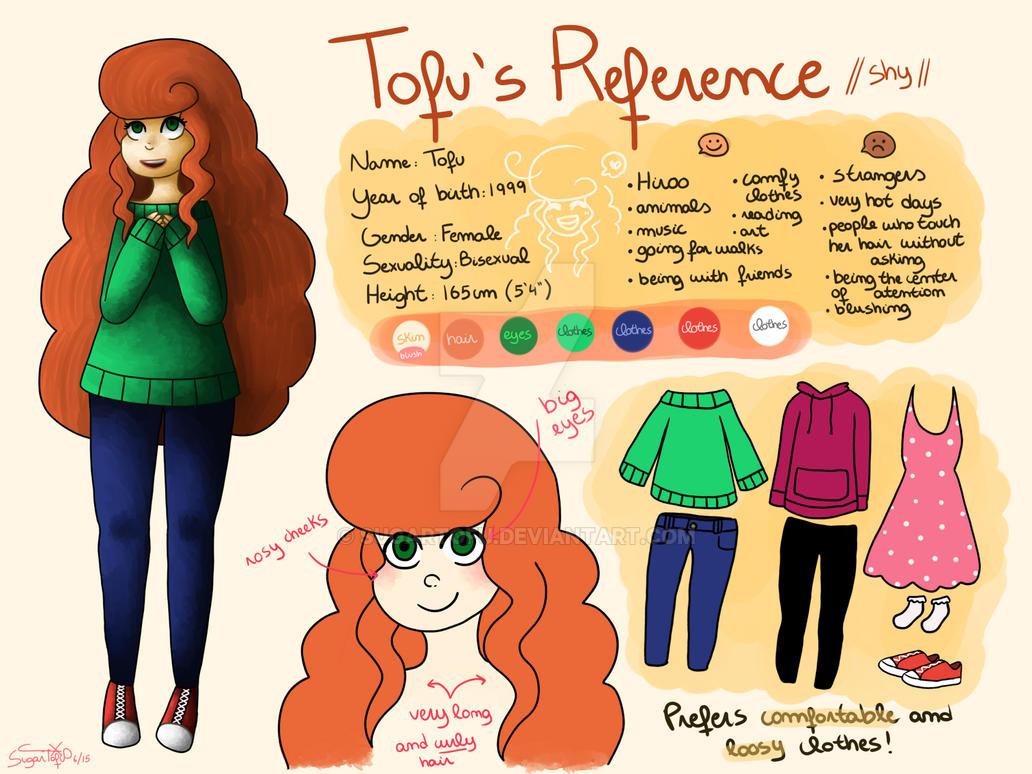 042 Tofu's Reference by SugarTofu