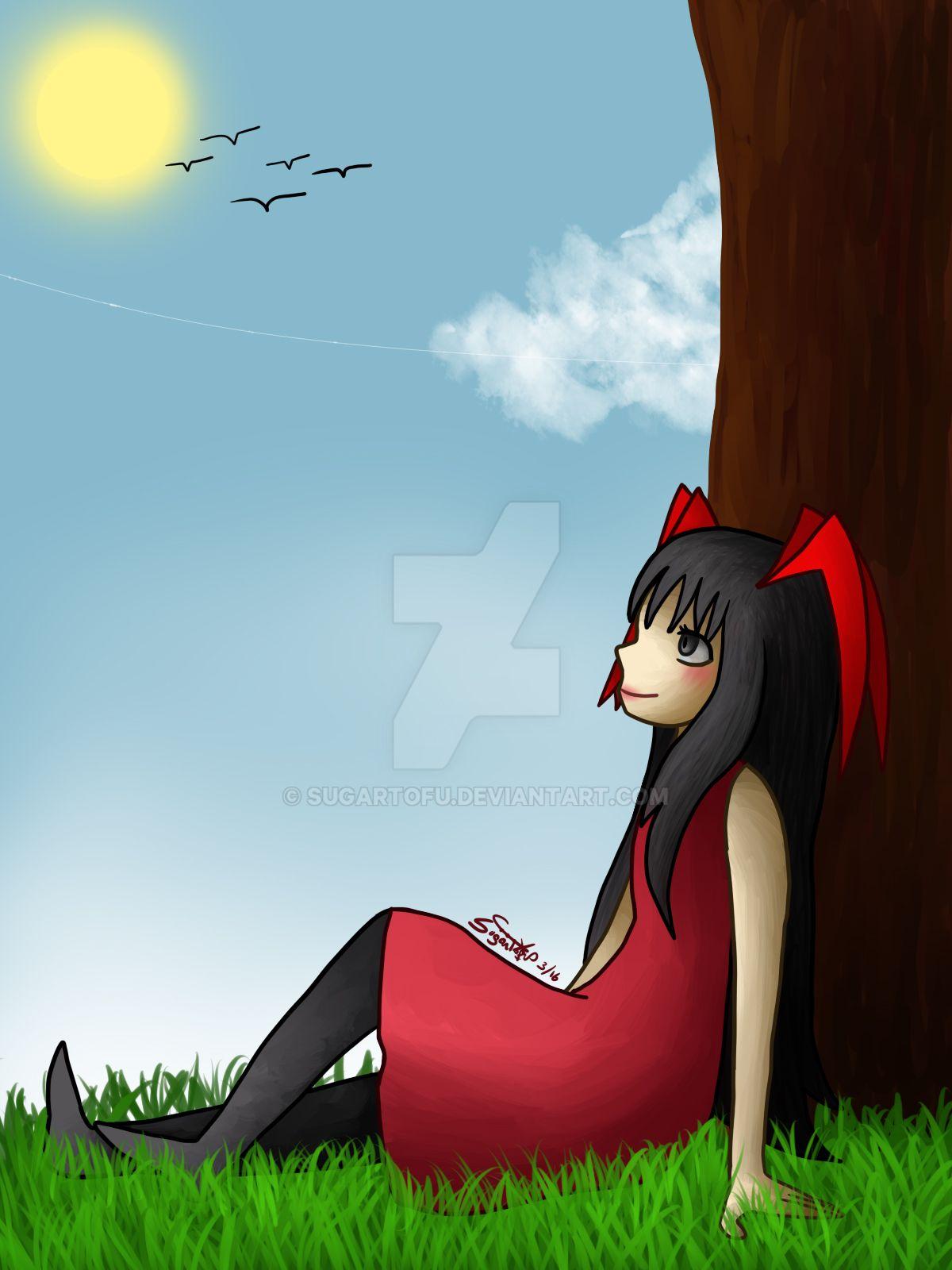 055 B-day: Manga-Chan by SugarTofu