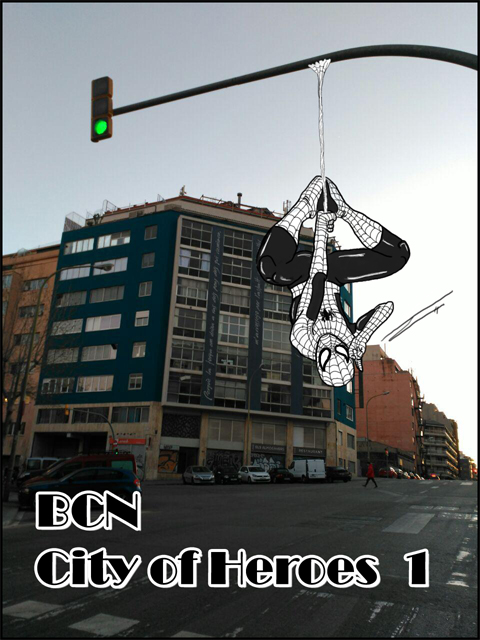 Barcelona: City of Heroes by luftdrache