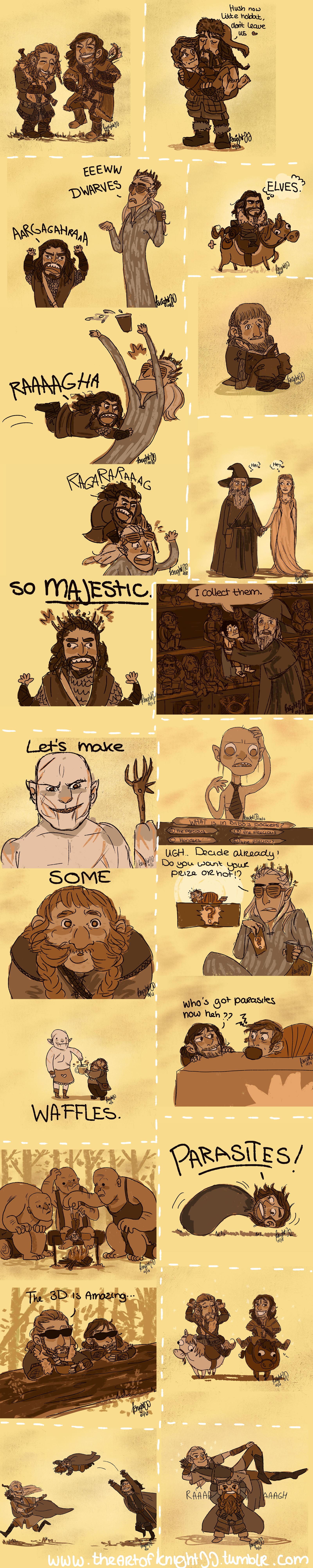 Hobbit Tumblr dump! by knightJJ
