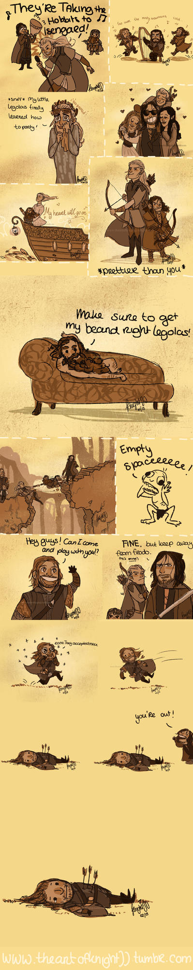 Hobbit/lotr tumblr dump 2! by knightJJ