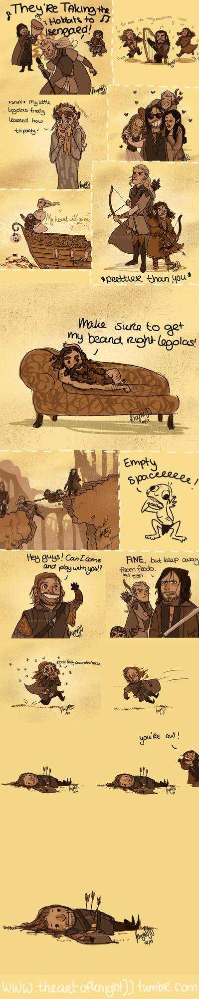 Hobbit/lotr tumblr dump 2! by knightJJ