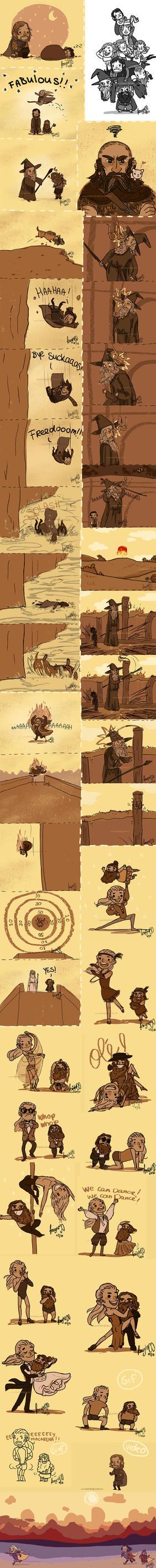 Hobbit/LOTR Tumblr Dump3 by knightJJ