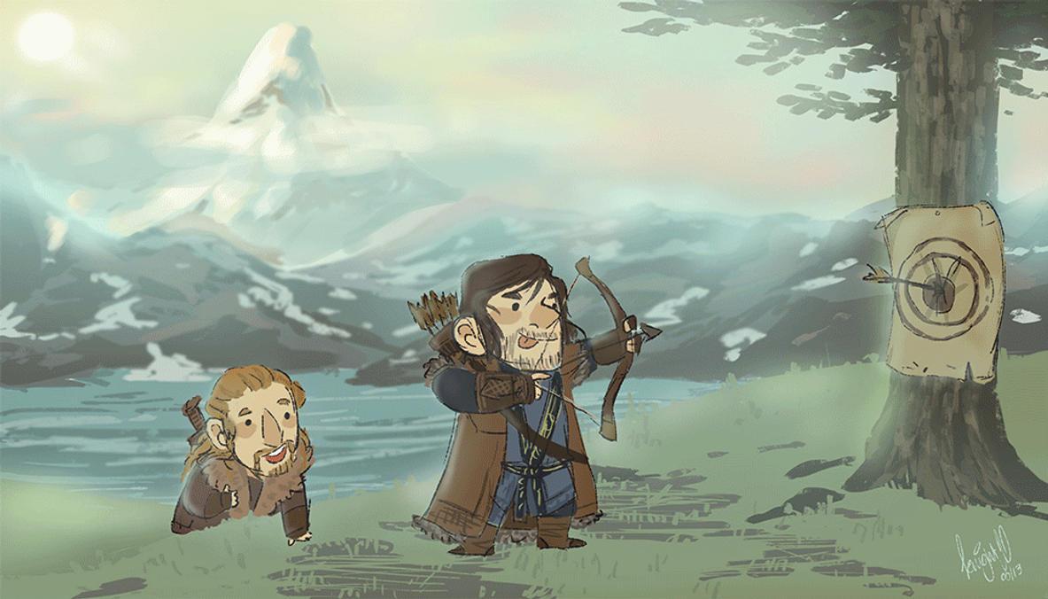 hobbit wallpapers by knightjj on deviantart