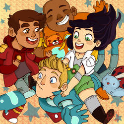 We are the Bravest Warriors! by knightJJ