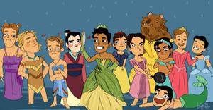 Disney babes