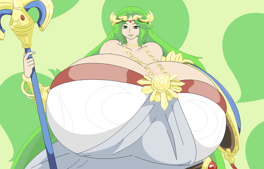 Palutena Can Do More Than Just Fight by Two-Ton-Neko