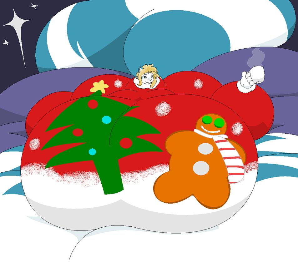 An Erolunai Christmas by Two-Ton-Neko