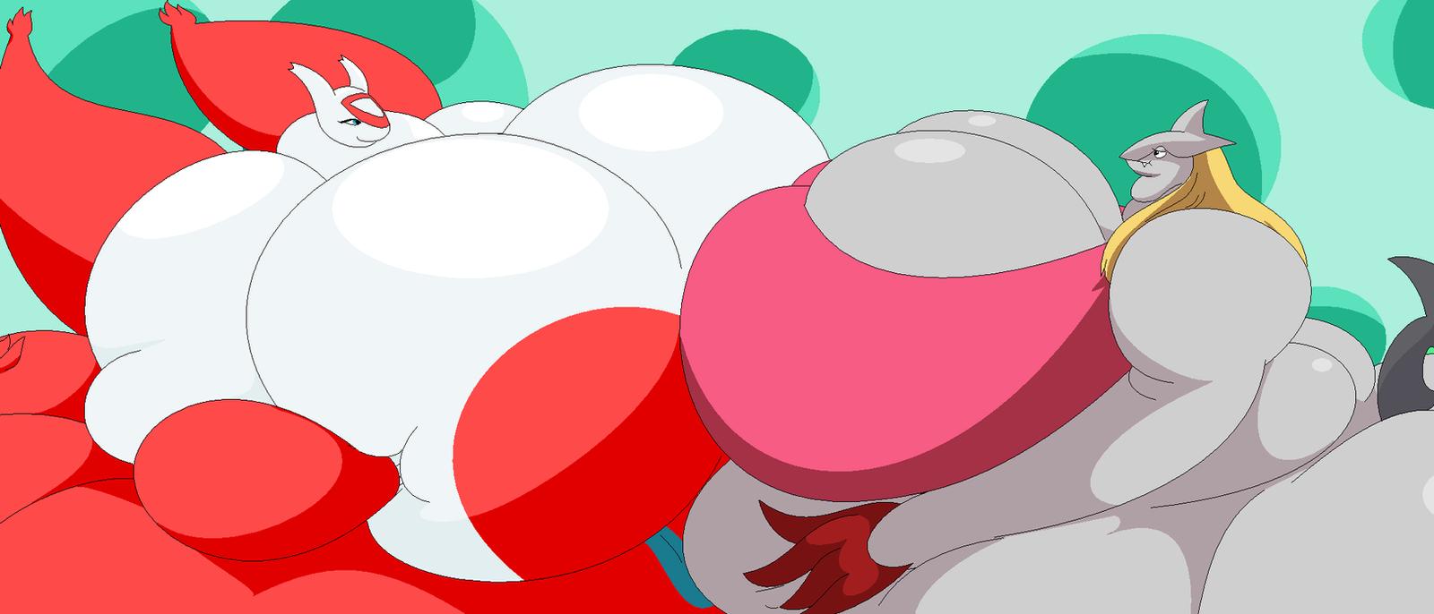 A large Cherry with plenty Margaret by Two-Ton-Neko