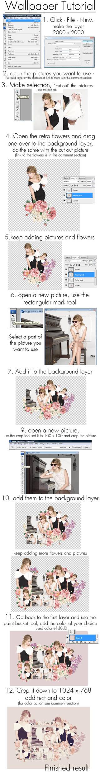 Wallpaper tutorial - Taylor S