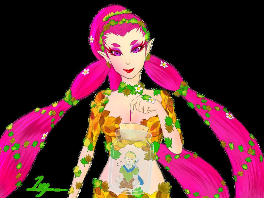 Link And Great Fairy Hyrule Warriors Fan Art By Ivyx9 On Deviantart