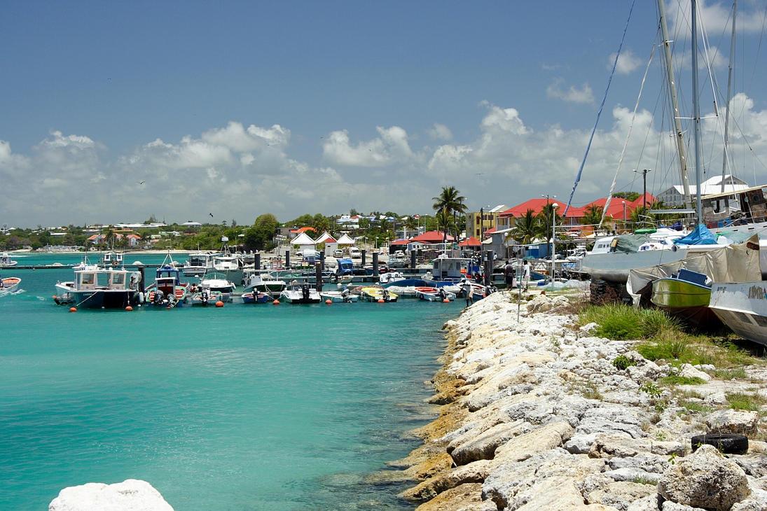 Port de St Francois by ElGroom