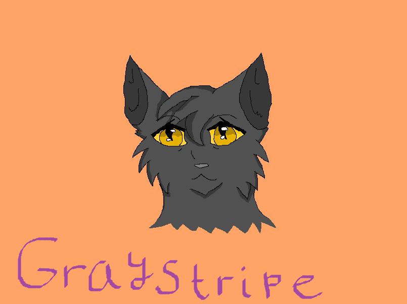 Graystripe Sketch by Spottedleaf24