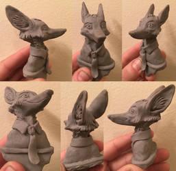 Nick Wilde bust sculpt