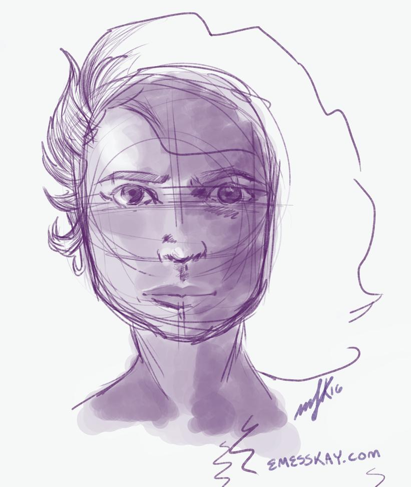 Self portrait 3/20 by satiredun
