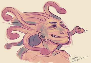Medusa by satiredun