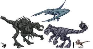 Movieverse Dinobots