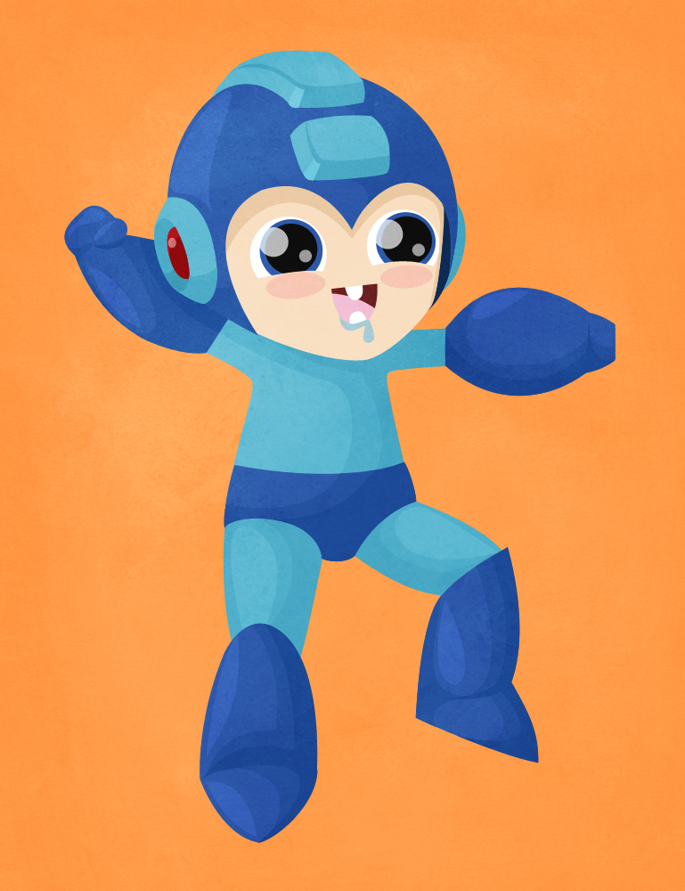 Mega Man by beyx