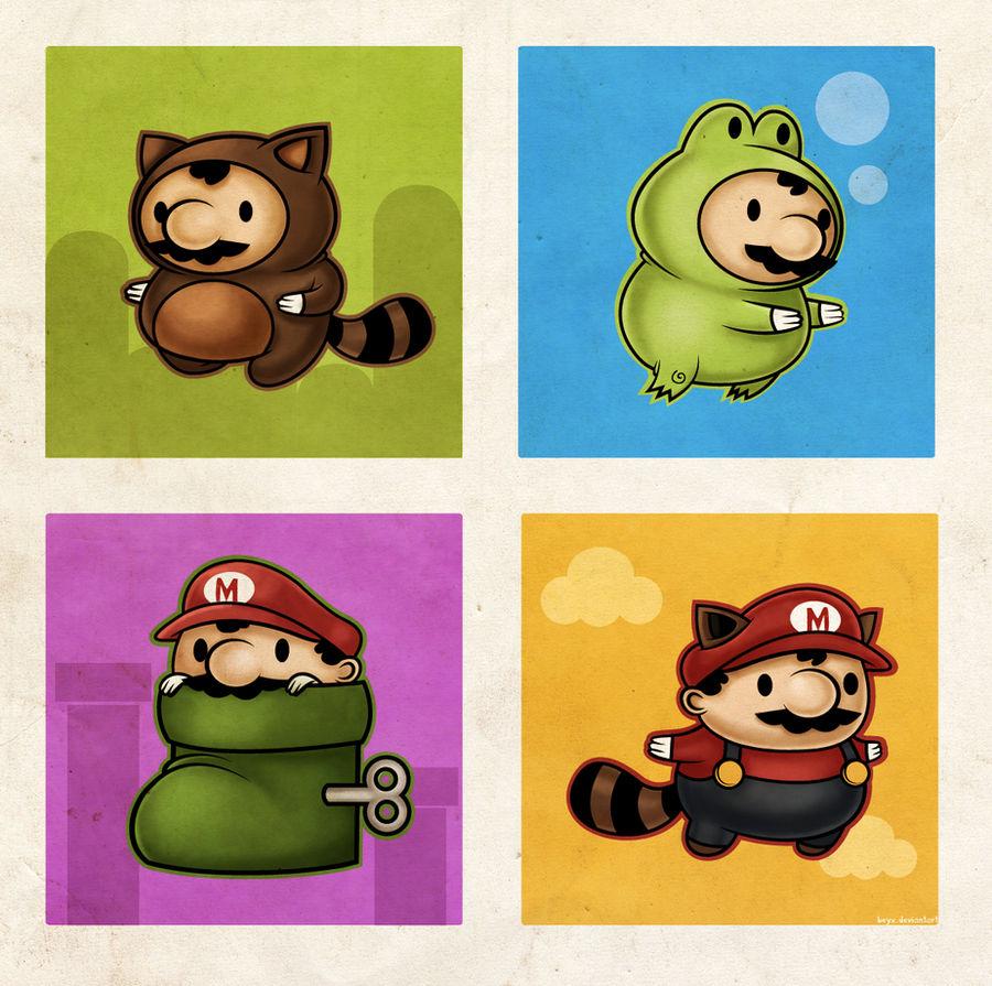 Mario Suits