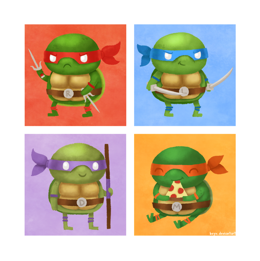 TMNT by beyx