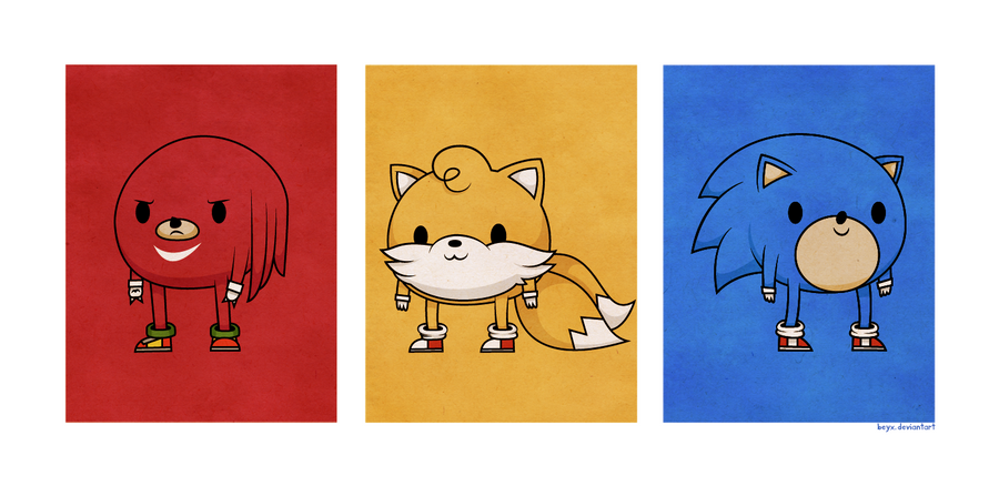 Sonic Guys by beyx