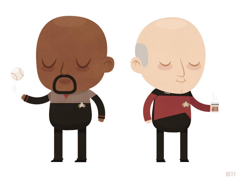 Baldies by beyx