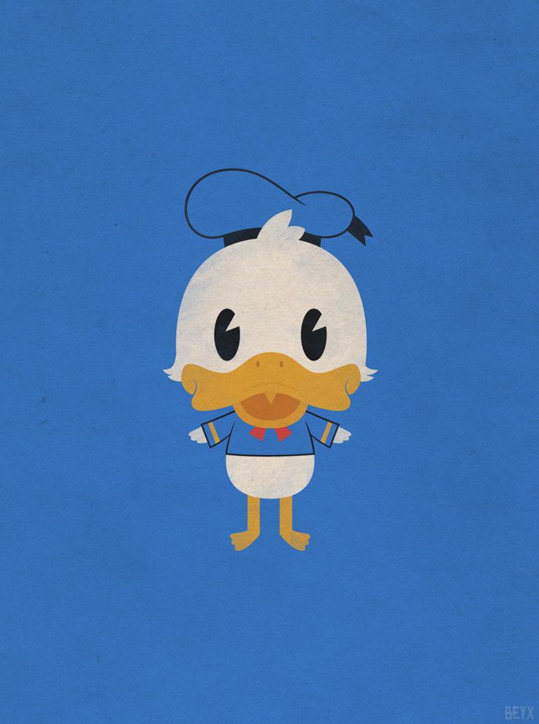 Wallpaper iphone donald duck - Donald Duck By Beyx