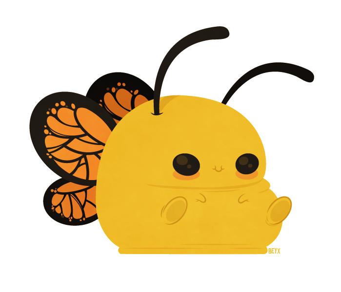 Blubberfly by beyx