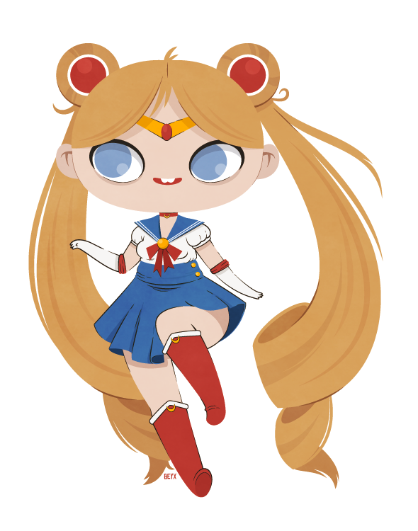 Sailor Moon by beyx