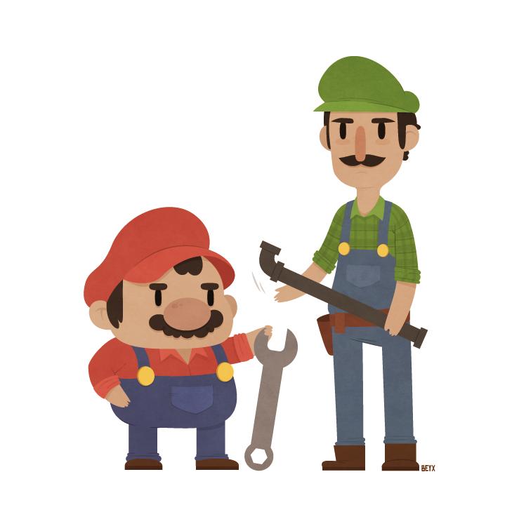 Super Mario Bros. by beyx