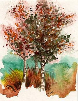 Landscape 10 - Birches
