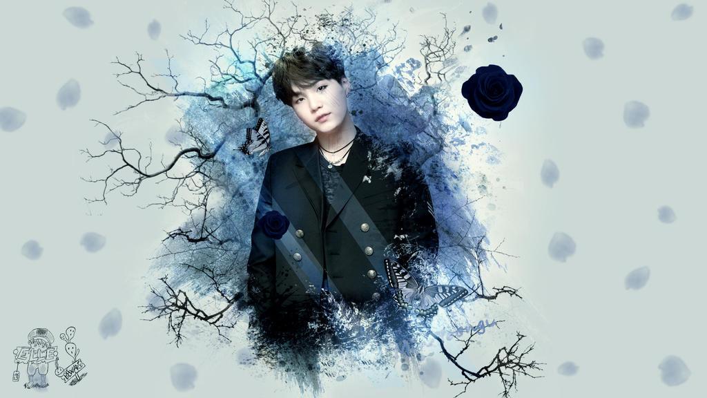 BTS Min Yoongi wallpaper! by AkariChan87Gaby