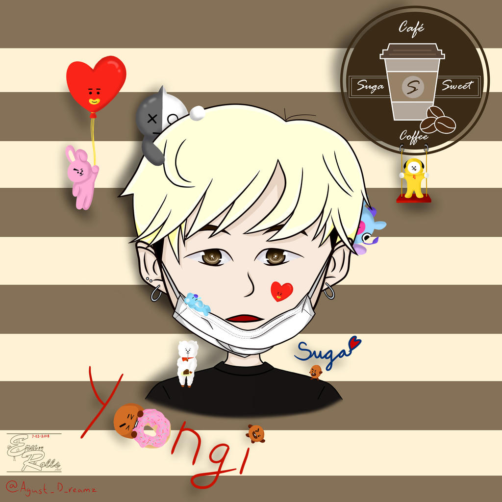BTS Yoongi 2 by AkariChan87Gaby