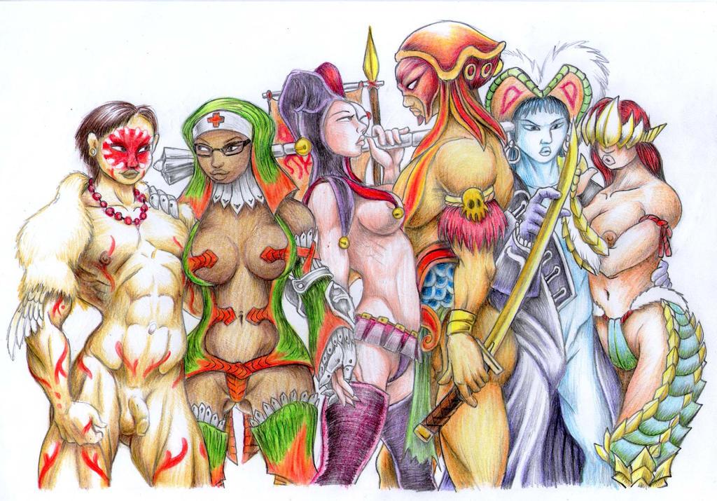Interdiferencial Heroes by Khasdannyanlord