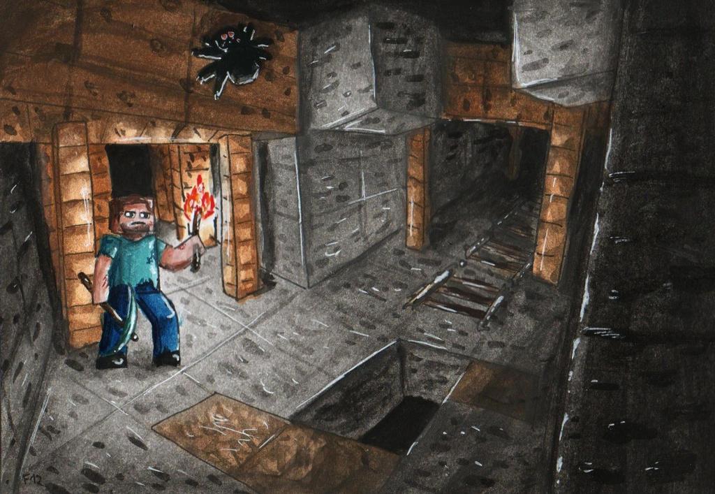 mine shaft wallpaper - photo #23